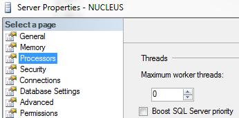 Boost SQL Server Priority